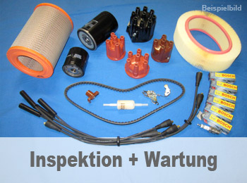 Inspektion + Wartung